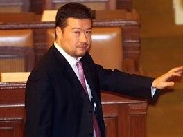 Poslanec Tomio Okamura neusp�l ani ve druh� volb� �tvrt�ho m�stop�edsedy...