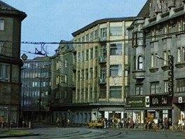 Obchodní dům v 80. letech