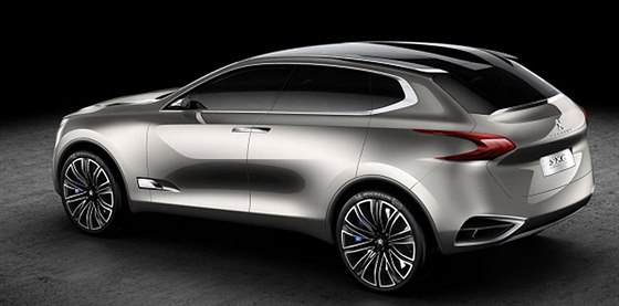 Koncept SUV Peugeot 6008
