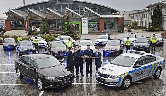 Policie přebrala šestiválcové superby v úterý 10. prosince