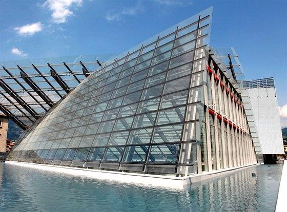Moderní budova Museo delle Scienze vTrentu