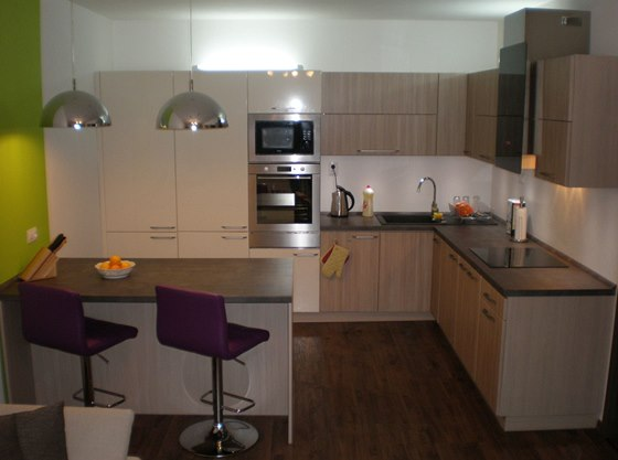 Kuchyň po rekonstrukci