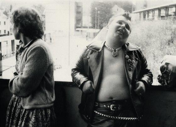 """Martin """"Pumlíč"""" Bistray (ex Svobodný slovo, Stress), Příbram 1986, archiv Vildy..."""