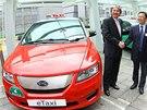 BYD e6 pro taxislužbu v Rotterdamu a Hong Kongu