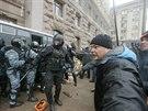 Ukrajinská policie se pokusila vyklidit kyjevskou radnici (11. prosince 2013)