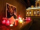 Na Václava Havla se vzpomínalo i v Chebu (18. prosince 2013)