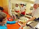 Vítězem testu se stala školní jídelna v ZŠ Letců RAF v Nymburce