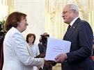 Livia Klausová se oficiálně stala velvyslankyní na Slovensku. Funkce se ujala...