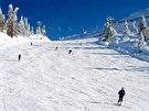 """Jedna zširokých lyžařských """"dálnic"""" nad Andalem"""