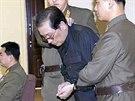 Voj�ci p�iv�d�j� �ang Song-tcheka k soudu.