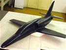 Model L-169 ukazuje základní vizuální změnu oproti L-159 a L-39: chybějí