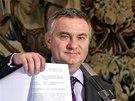Kancléř prezidenta Zemana Vratislav Mynář oznámil na tiskové konferenci, že