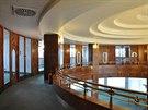 Galerie v Hotelu Palace v centru Ostravy v současnosti.
