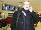 Šéf lidovců Pavel Bělobrádek po návratu z USA pospíchal rovnou z letiště na...