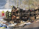 Tragická nehoda v Mladých Bukách na Trutnovsku. (17. 12. 2013)