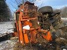 Tragická nehoda v Mladých Bukách na Trutnovsku (17.12. 2013)