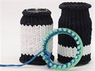 Z bavlněných špagátů lze pomocí tzv. pletacího kruhu a háčku uplést například...