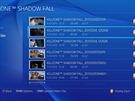 PlayStation 4 - archiv pořízených videí