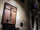 Nové osvětlení Svatovítské katedrály umí ozářit jednotlivé kaple.