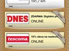 Aplikace Portmonka - st�hn�te si MF DNES na 14 dn� zdarma.