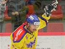 JAKO V NHL. �to�n�k �esk�ch Bud�jovic Ale� Kotal�k slav� g�l z trestn�ho
