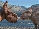 Záběr z filmu Putování s dinosaury