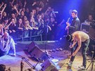 Pete Doherty a Babyshambles rozdivočeli 9.12. 2013 pražský Lucerna Music Bar.