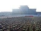 Vojáci severokorejské lidové armády přísahali věrnost mladému vůdci Kim...