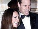 Princ William a jeho manželka Kate (11. prosince 2013)