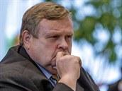 Bývalý šéf brněnského Televizního studia ČT Karel Burian (11. prosince 2013)