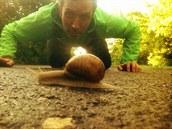 Na našich běžeckých cestách se objevil nový parťák - Karel Bolt.