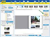 Automatické plnění pomáhá s uspořádáním fotek na stránkách.