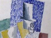Pablo Picasso, Muž s gibusem, 1914
