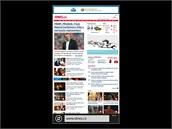 Displej phabletu Nokia Lumia 1520
