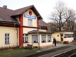 Malebné nádraží v Horní Lipové získalo titul Pohádkové nádraží roku 2013.