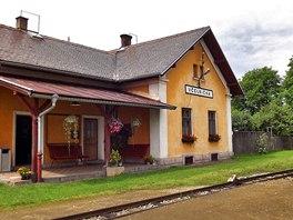 Nádraží Včelnička získalo titul Pohádkové nádraží roku 2013.