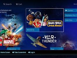 PlayStation 4 - nabídka PlayStation Store