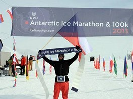 Petr Vabroušek po triumfu v ultramaratonu v Antarktidě