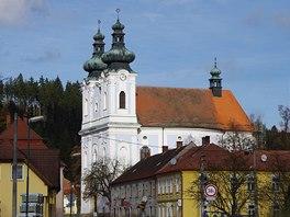 Poutní kostel ve Sloupu