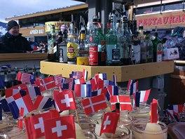 """Jedno z """"mezinárodních"""" aprés ski na Kronplatzu"""