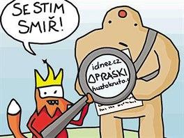 Nejoblíbenější postavou Oprásků je král Zmikund.