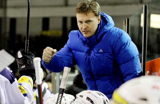 Jiří Čelanský, trenér hokejistů Kladna.