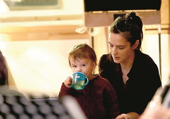Zpěvačka Jana Kirschner s dcerou