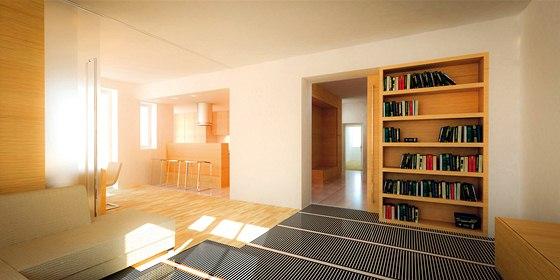 Elektrické topné fólie Ecofilm jsou určeny pro velkoplošné podlahové nebo