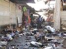 Desítky mrtvých si vyžádaly dva nezávislé útoky v Bagdádu namířené proti...