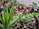 Zájem o prohlídky skleníků ostravské zoologické zahrady byl v pátek veliký....