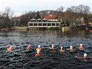 Na Memoriál Alfréda Nikodéma si přišel zaplavat rekordní počet otužilců.