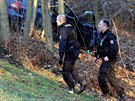 Policie u Ladronky dostihla a zatkla dva podezřelé muže, kteří prchali kradeným...
