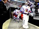 NÁSTUP. Tak nějak bude vypadat nástup českého týmu na led při olympiádě....