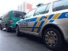 Policisté vyšetřují v kladenské Hřebečské ulici násilné úmrtí...